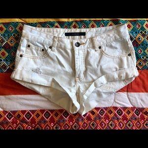 Billabong White Shorts